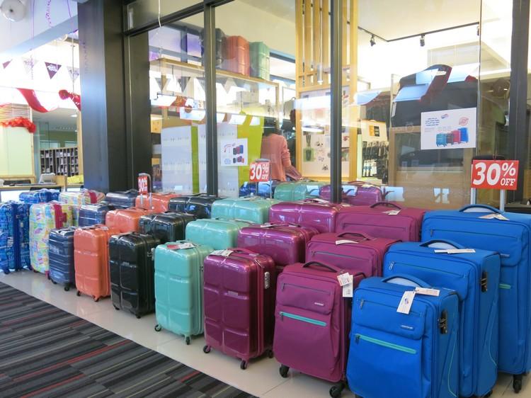 多样款式行李箱,折扣高达40%!