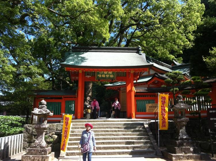 熊野那智大社。