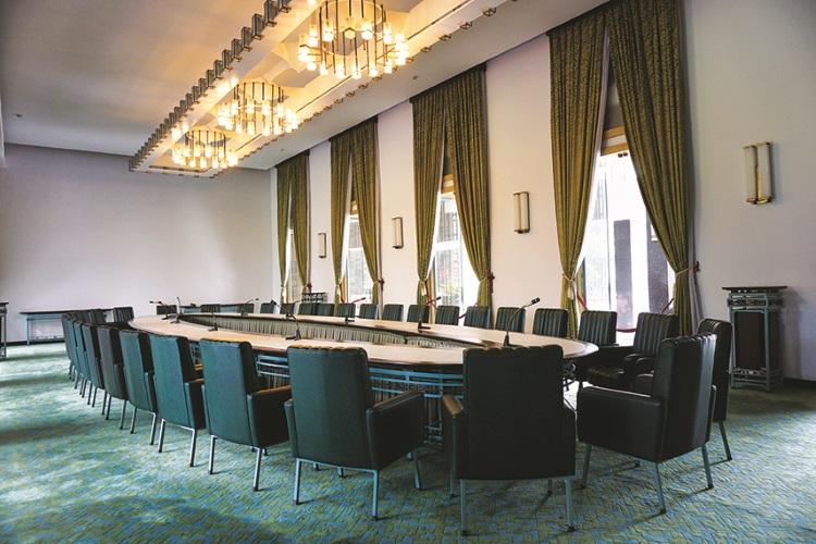 统一宫有多间会议室。