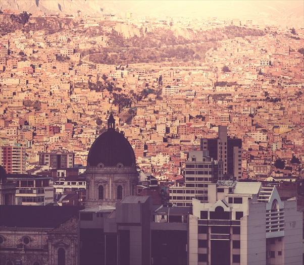 拉巴斯俯瞰图有着令人爱上当地的魔力。