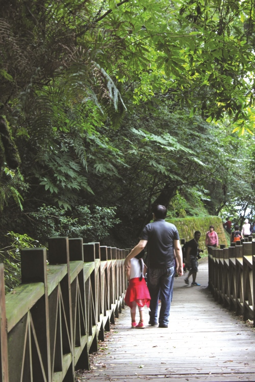 园区走道设备扎实,加上环境幽静,趁机忘却都市的繁忙。