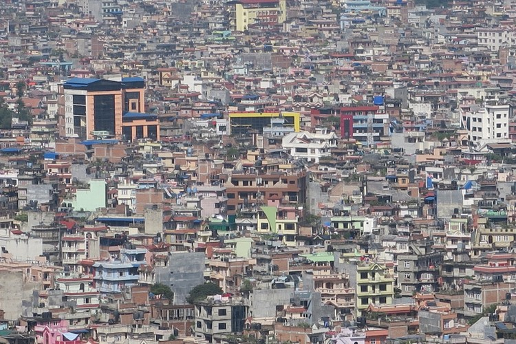 三百万人口的加德满都;难见高楼