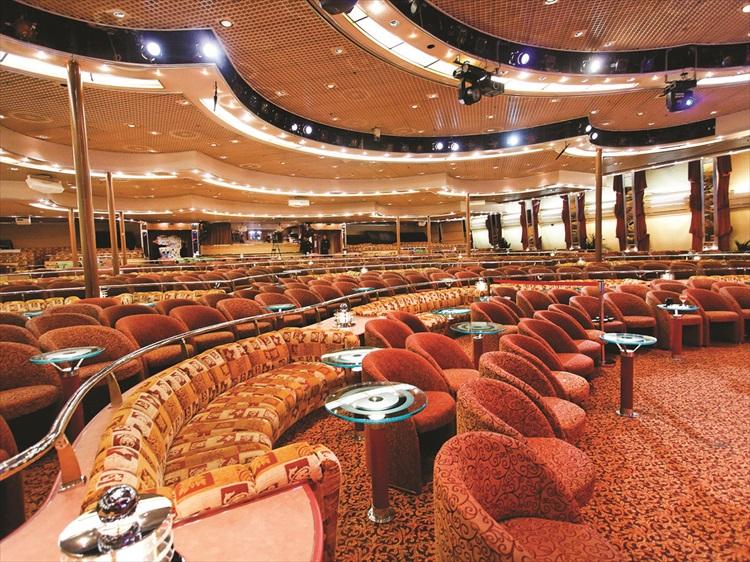 星辰酒廊是举办综艺表演、奇幻魔术及特被活动的场地。