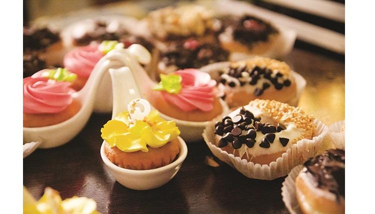 嘉年华巧克力派对现场有多种巧克力甜点提供哦~