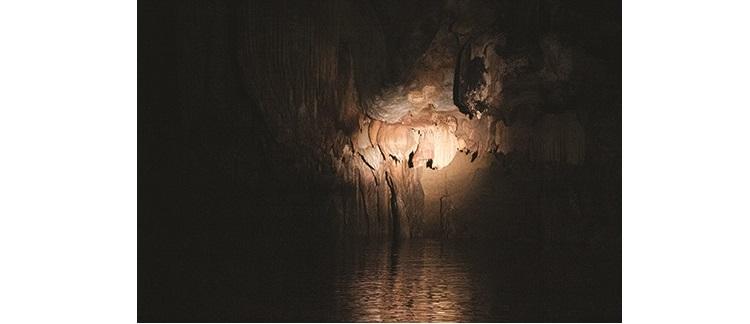 钟乳石奇形怪状居多,遍布整个洞穴。