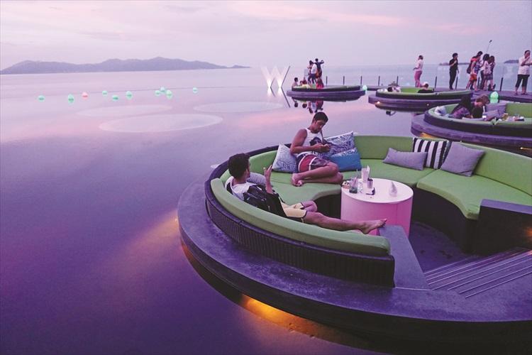 这里可副刊苏梅岛的美景哦。