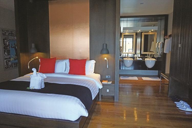 酒店设计宽敞、高雅。