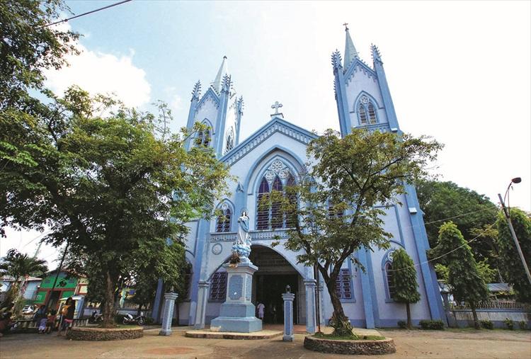蓝色大教堂。