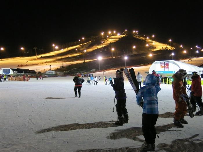 滑雪胜地,Alpensia滑雪度假村。