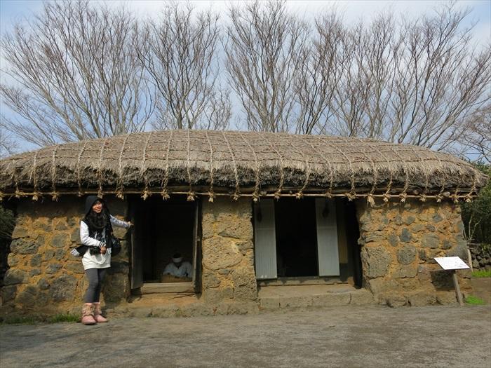 济州岛,济州民俗村。
