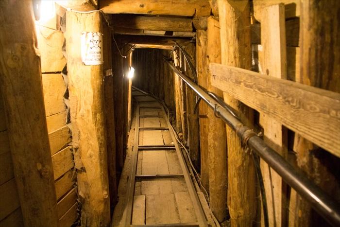 波斯尼亚萨拉热窝的隧道博物馆。