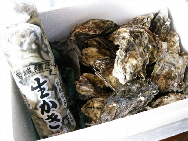 官城县出产的蚝在日本相当著名。
