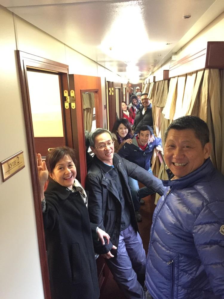 厢居在了火车包厢内;和陆相处,相濡以沫。
