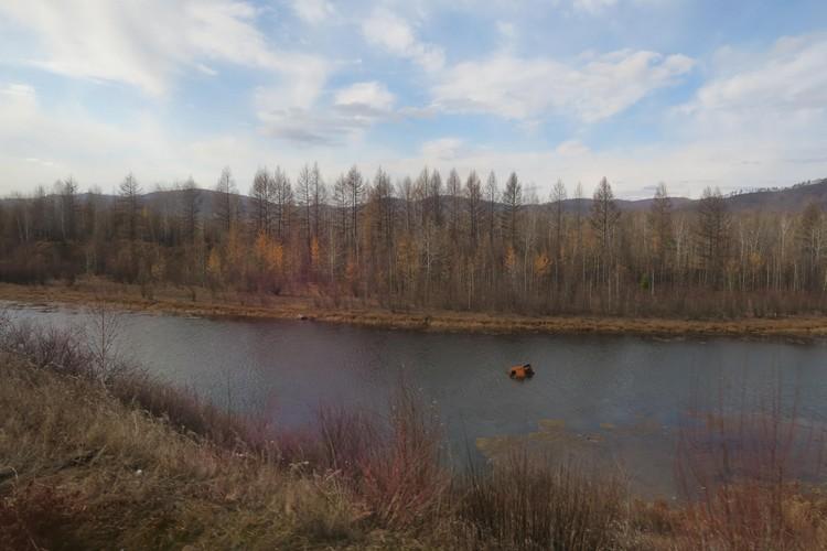 10月是西伯利亚的深秋;如诗如画。
