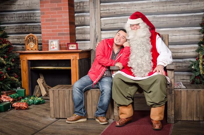 圣诞老人村是一个全年都可以感受圣诞节的村子,别忘了和圣诞老公公见面寒暄!