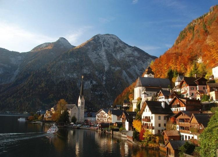 hallstatt autumn
