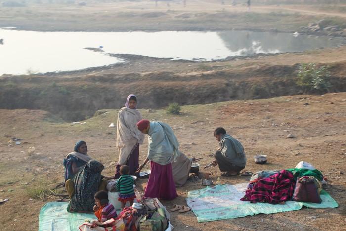 在印度旅游,你可以明显感受到生活条件上的差距。