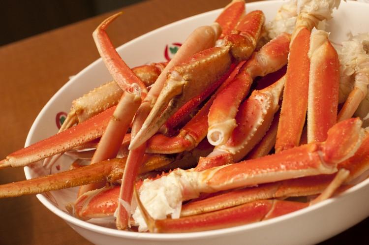 垂涎欲滴的北海道螃蟹大餐!