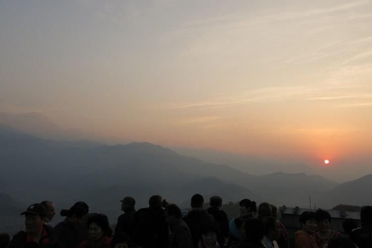 萨朗科的日出。(一)