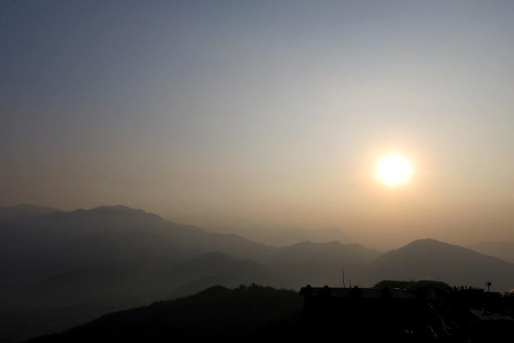 萨朗科的日出。(二)