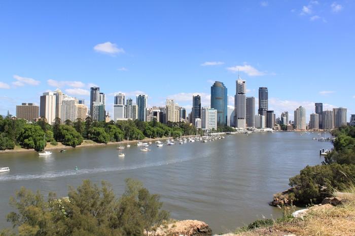 袋鼠角(Kangaroo Point)并没有袋鼠,但因为此处地势较高,因此游客都喜欢到这来俯瞰布里斯本河以及对岸的高楼群。