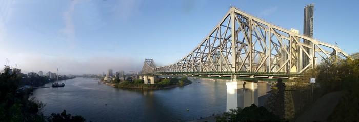 故事桥(Story Bridge)是布里斯本首屈一指的旅游景点。