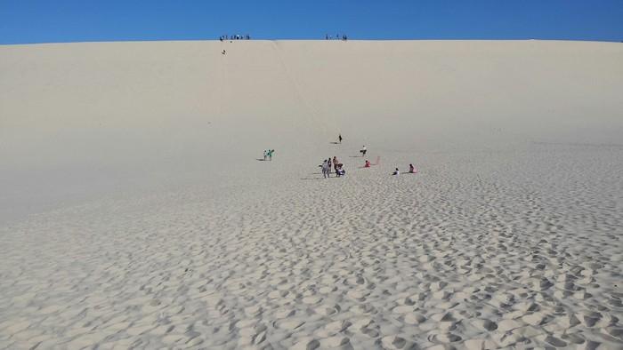 白天在沙丘上能玩什么?