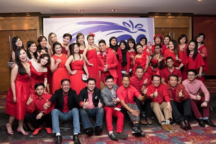 红组(蘋果101、蘋果MICE、雅加达蘋果旅遊、新加坡蘋果旅游)