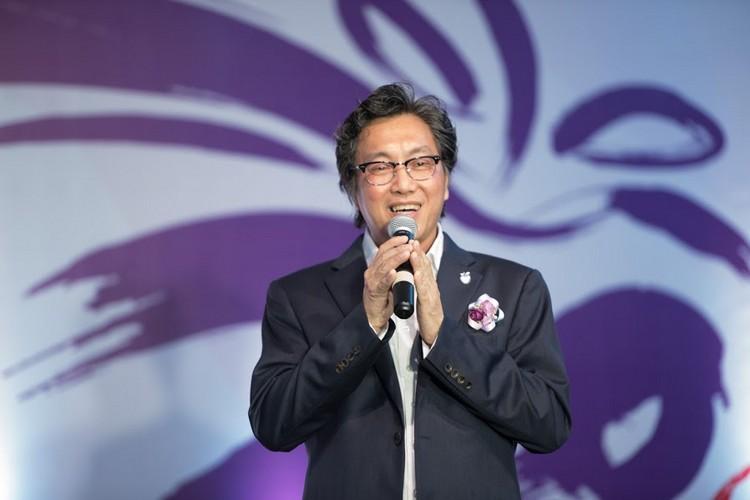 Koh san在宴会中对20年来一路支持蘋果旅遊的外界表示感谢。