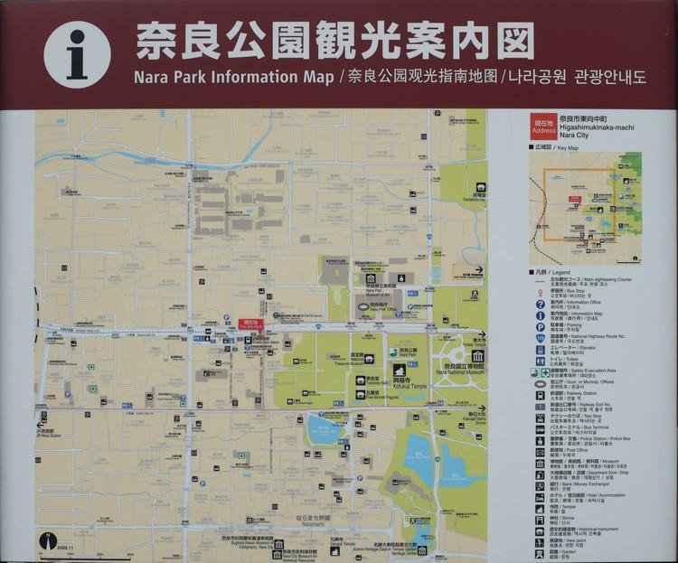 map from nara station