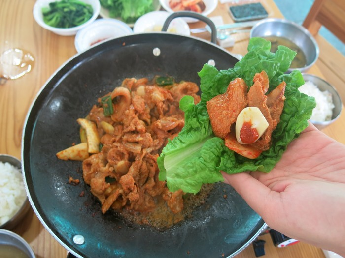 烤黑猪肉 Grilled Black Pork