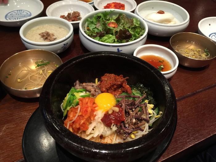 韩式拌饭 Bibimbap (2)