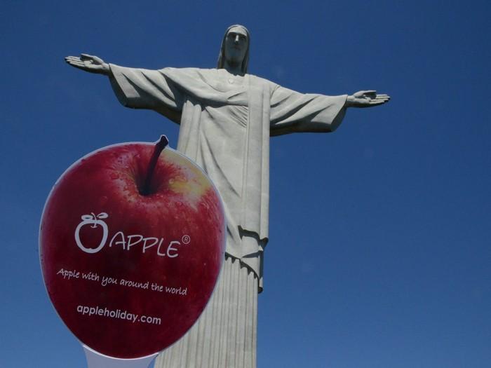 蘋果在巴西!