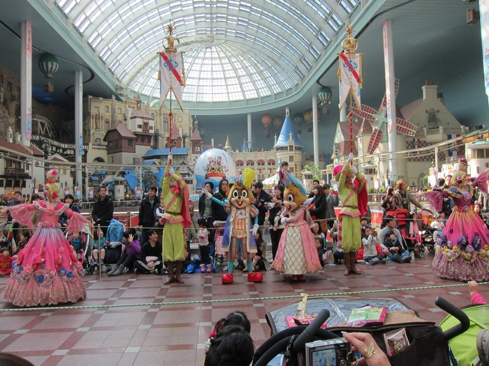 Lotte World indoor