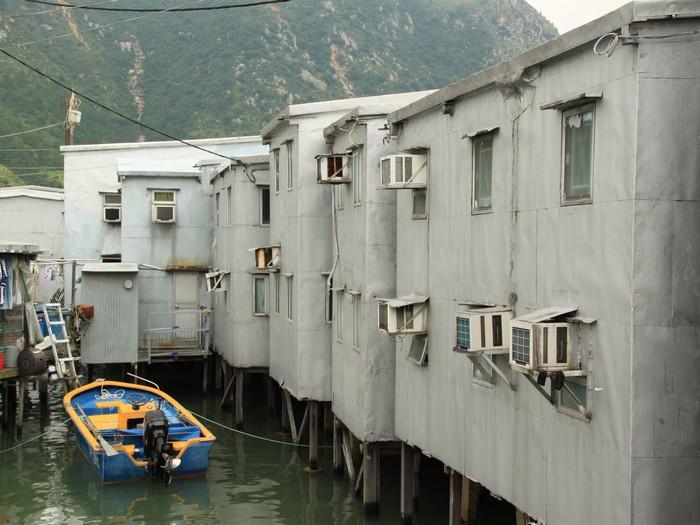 这种棚屋在香港已很少见到。