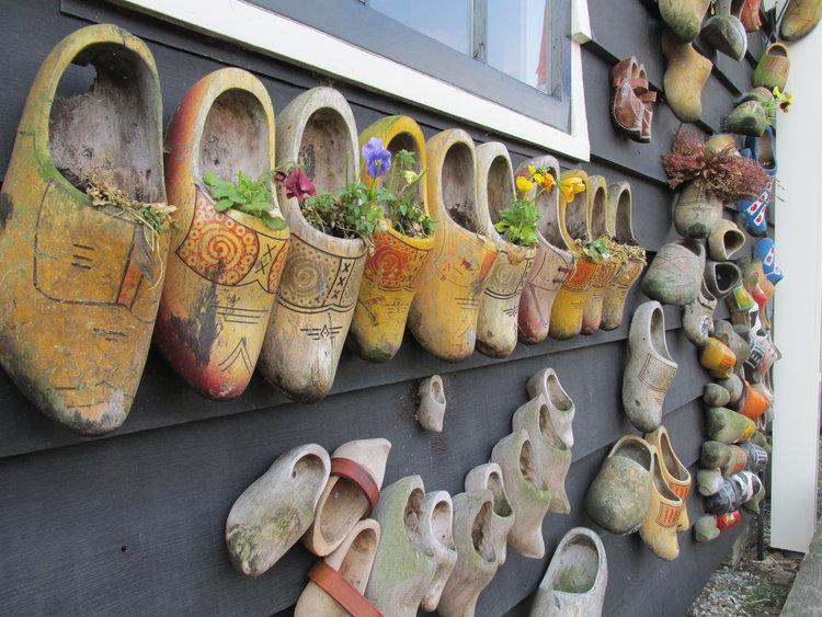 原来荷兰的木鞋也能这么用!