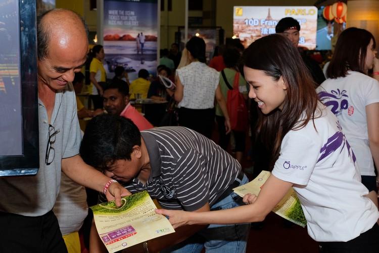 民众对福建旅游概况深感兴趣。