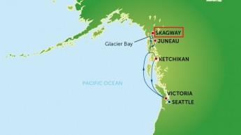 Alaska-Map Skagway