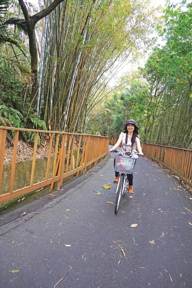漫游在绿荫浓密的哲学之路单车道,凉爽愉快。