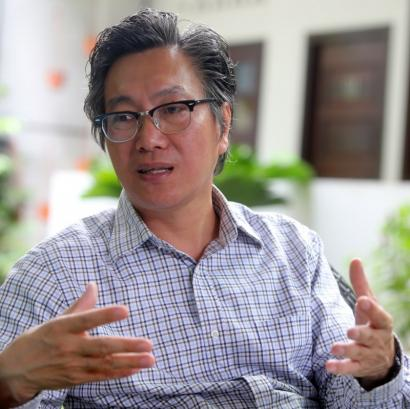 许育兴:吉隆坡是个沼泽之地,生存下来的都是沼泽树,但发展期间却慢慢砍掉了,我觉得相当可惜,能够保留下来是幸福的事。(图:星洲日报)