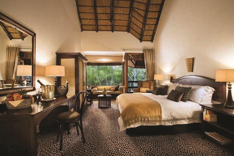 巴库蓬布什旅馆的房间也弥漫着浓浓的南非风情。