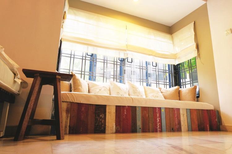 舒适的房间,使人在疲惫的旅途中感到安心。