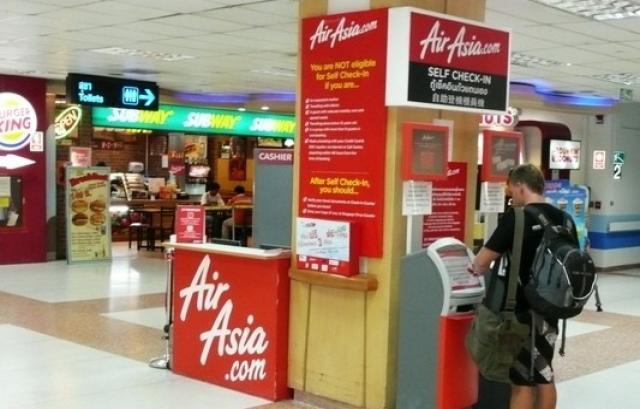 Kiosk check in
