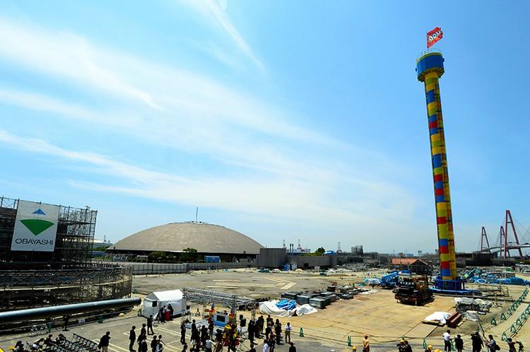 目前处在建设中的LEGOLAND JAPAN
