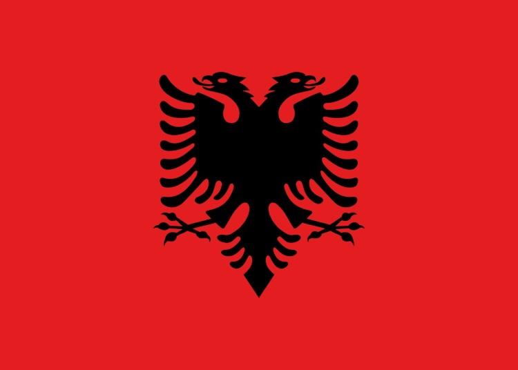 我喜欢阿尔巴尼亚国旗;严肃,热血。国旗上绘有一只黑色的双头雄鹰,沿自15世纪抵抗奥斯曼帝国入侵的领袖斯 坎德培的印章,所以雄鹰是民族英雄斯坎德的象征,故此阿尔巴尼亚也有山鹰之国之称。