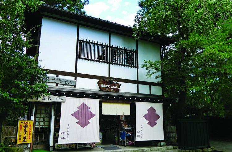 古色古香的日式建筑在角馆处处可见。
