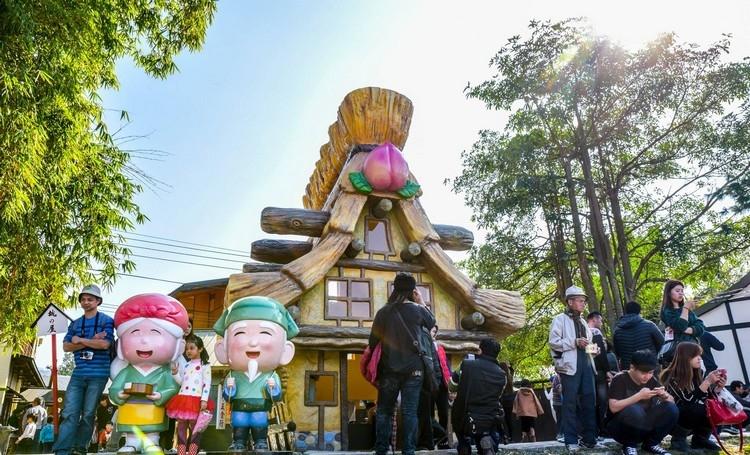 桃太郎电影文化城充满了日式建筑,所有关于桃太郎的事物都可以在这里找到哦!
