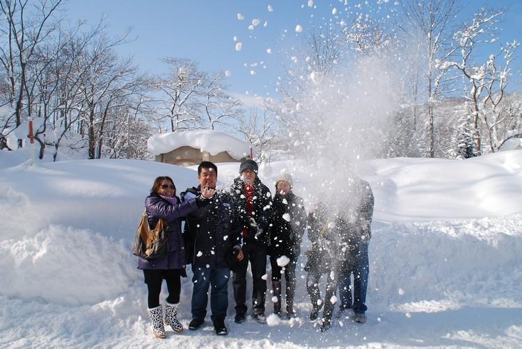 北海道的雪质之好备受认同,无论是来蜜月或家庭旅游皆宜!