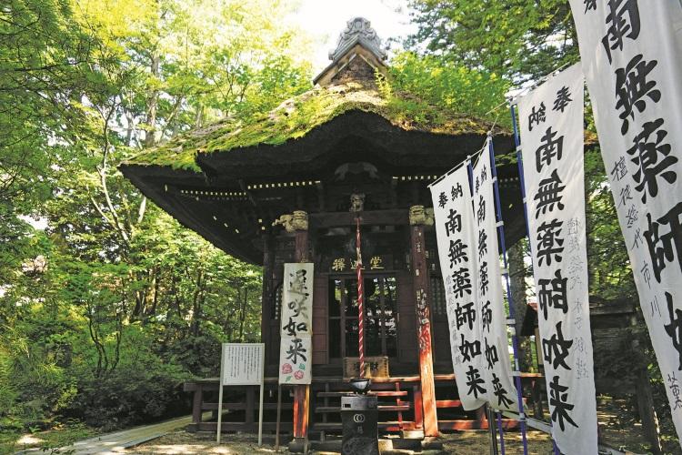 超过百年的神社。