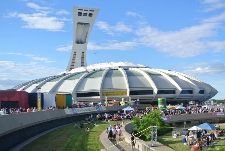 体育场和他上方的斜塔台,为蒙特利尔带来标志性的景致。
